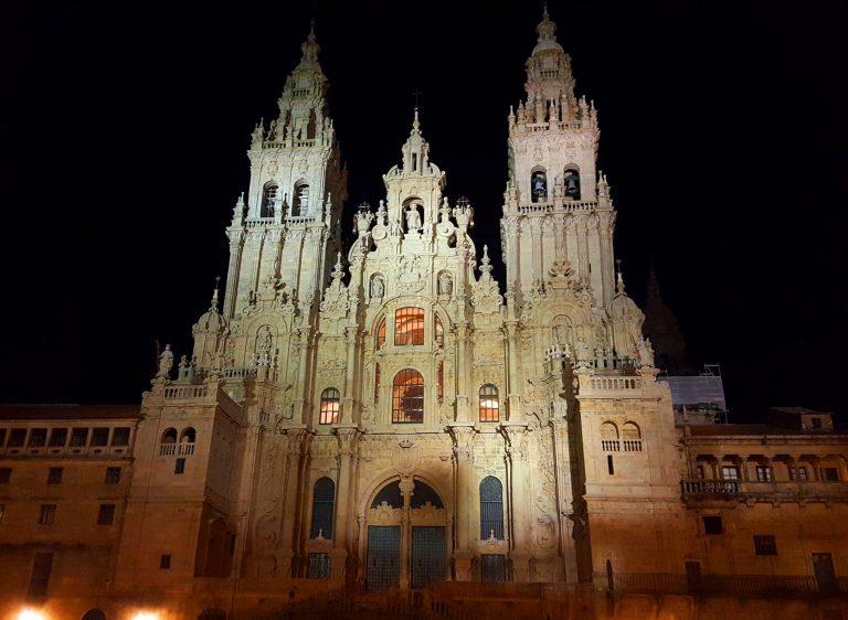 il cammino di santiago di compostela la cattedrale