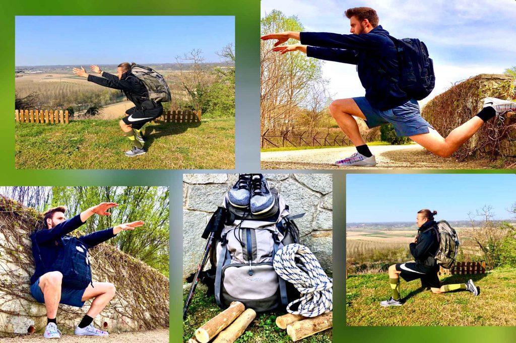 esercizi funtrekk gambe
