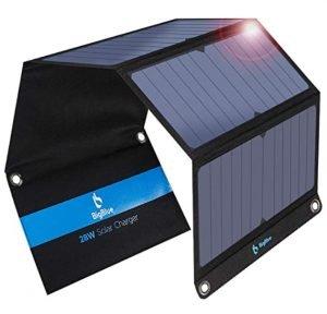 migliori pannelli solari trekking bigblue 28w