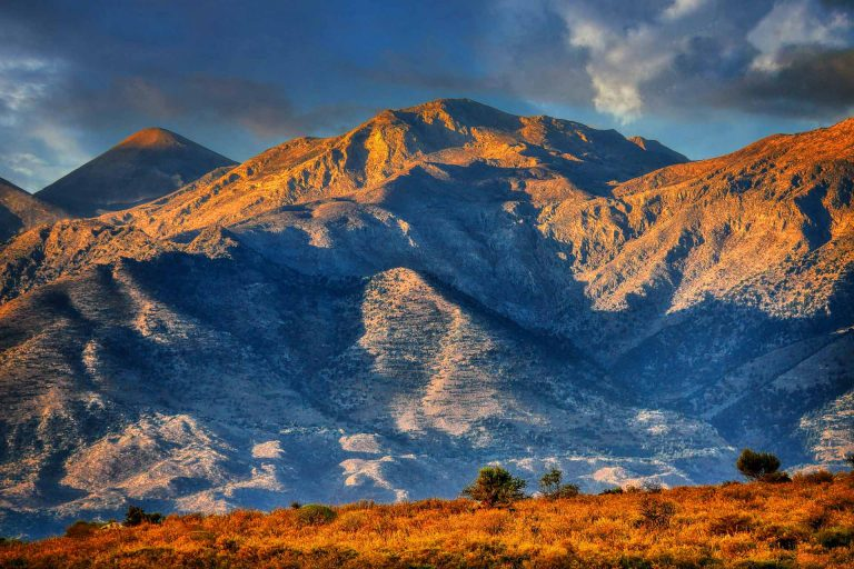 the cretan way montagne